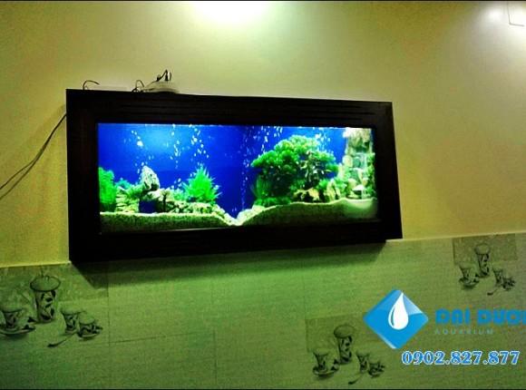 Hồ cá treo tường 07