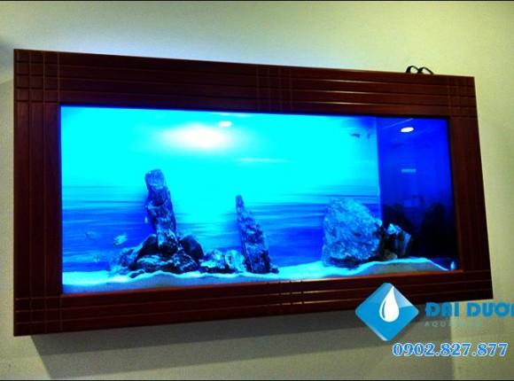 Hồ cá treo tường 03