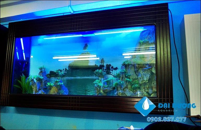 hồ cá treo tường trọn bộ