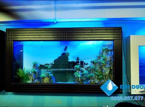 Hồ cá treo tường 05