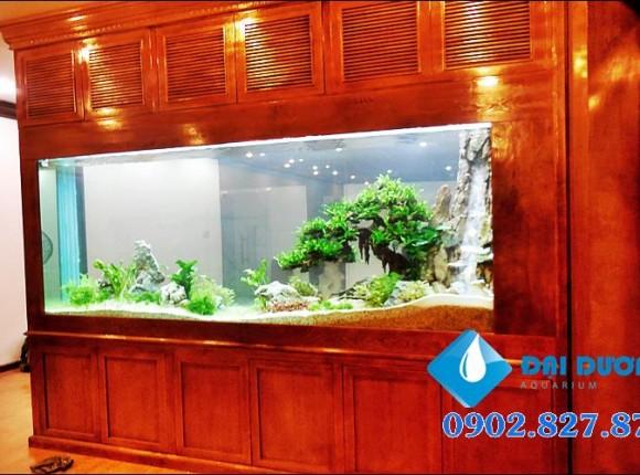 Hồ thủy sinh CTY Quản Trung Phan Thiết