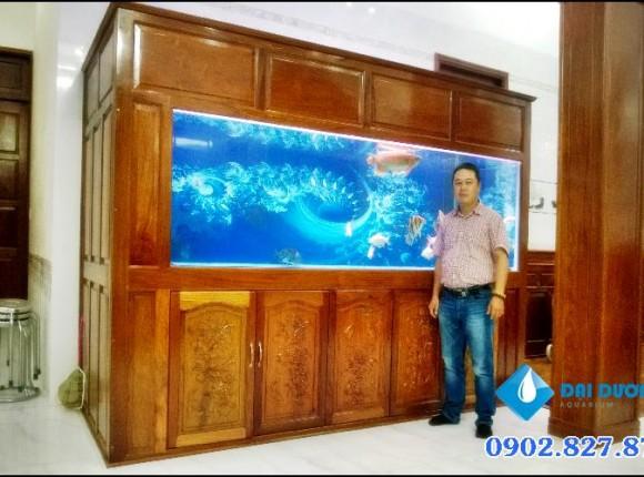 [Video] hồ cá rồng khủng tại Tây Ninh