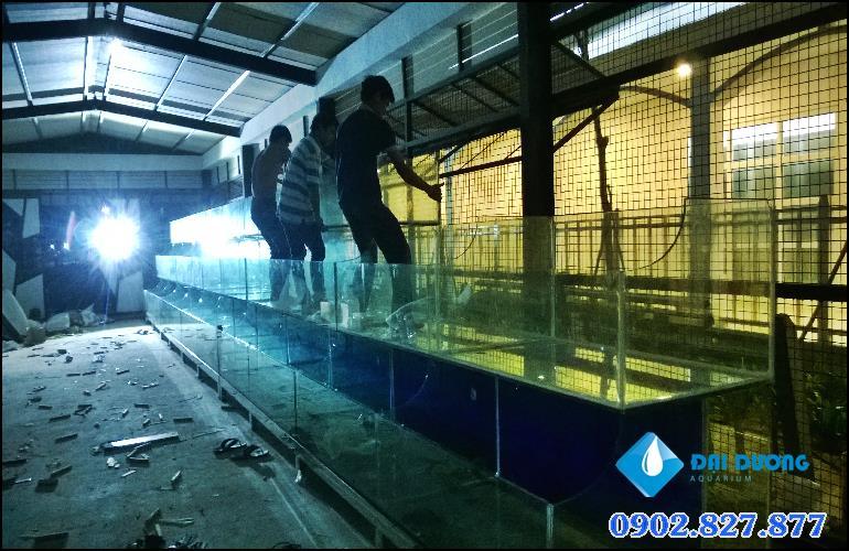 hồ hải sản siêu dài