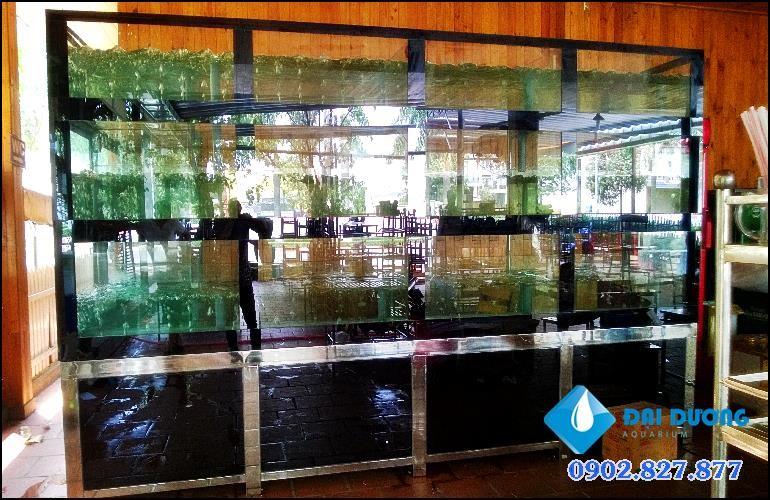 hồ hải sản quán thằng mập