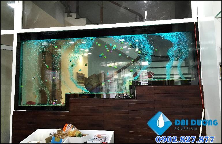 tường bong bóng tại shop hoa và cỏ