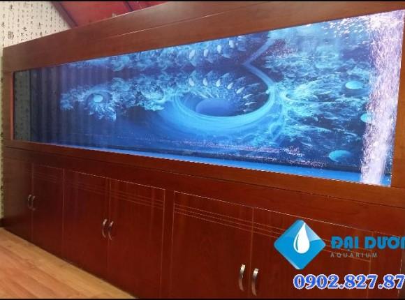 Hồ cá rồng 3,2m A.Minh Quận 8