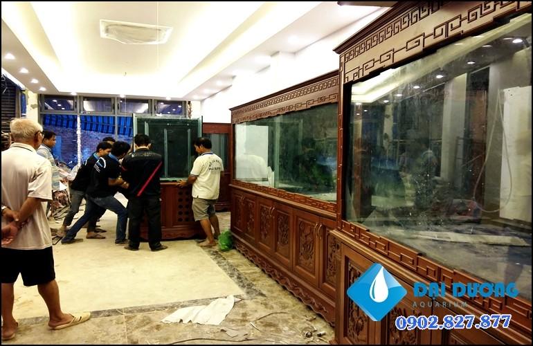 hồ cá rồng siêu phẩm 6 bộ hồ 3