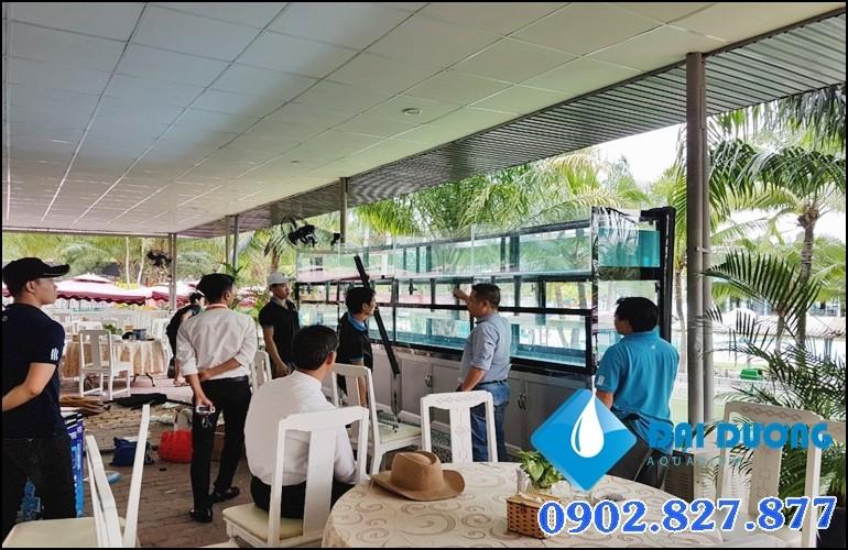 hồ hải sản nhà hàng KDL Đại Nam