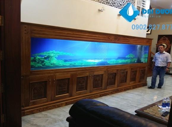 Bể cá khủng 4m tại Vũng Tàu