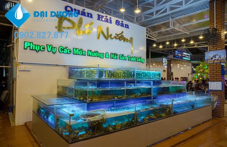 báo giá hồ hải sản
