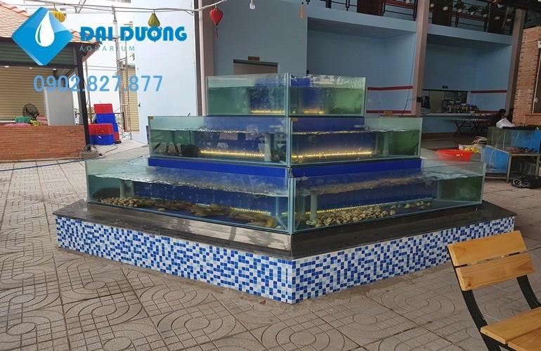 thiết kế hồ hải sản