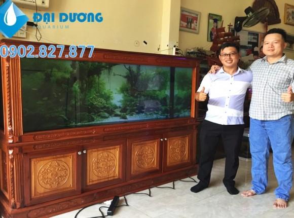 [Video] hồ cá rồng tại nhà a.linh Cà Mau