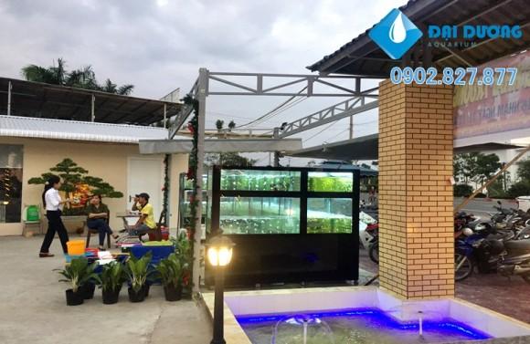 hồ hải sản nhà hàng thành thiên 5