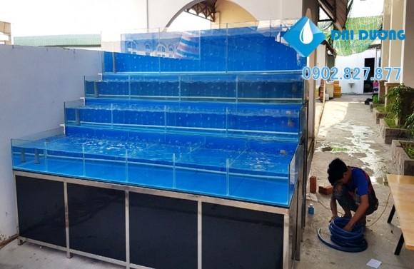 hồ nuôi chứa hải sản tại tây ninh 6