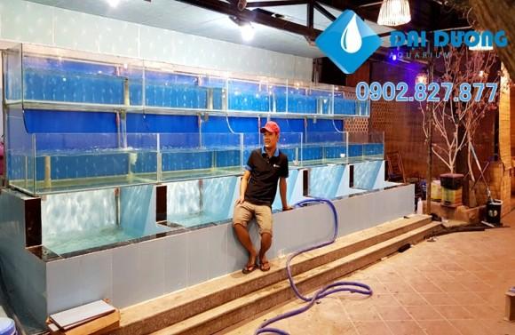 hồ nuôi hải sản nhà hàng 2