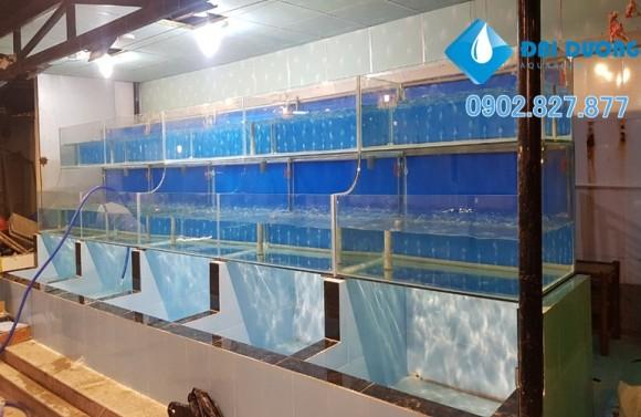 hồ nuôi hải sản nhà hàng 3