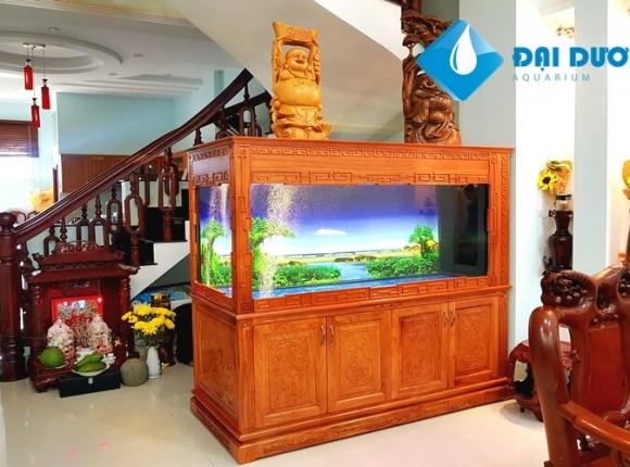 Hồ cá rồng tại nhà Anh Hưng Tân Bình